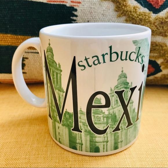 Starbucks 2009 Destination Mug Mexico City green